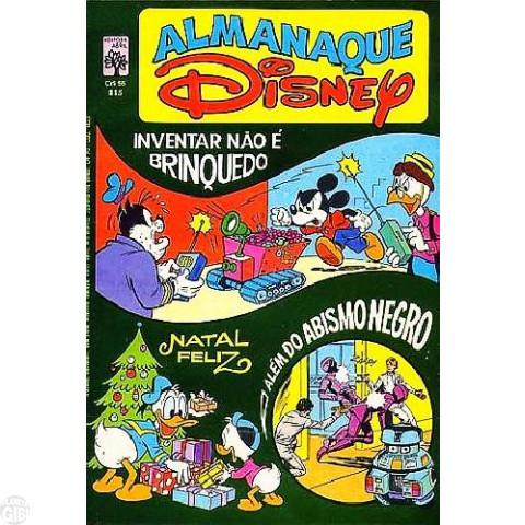 Almanaque Disney nº 115 dez/1980