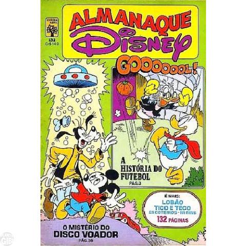 Almanaque Disney nº 132 mai/1982