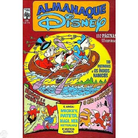 Almanaque Disney nº 135 ago/1982 - Carl Barks - Vide detalhes