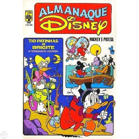 Almanaque Disney nº 143 abr/1983