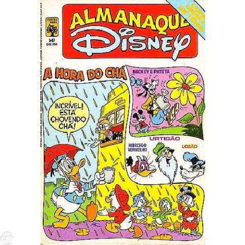 Almanaque Disney nº 147 ago/1983 - O Bandido Molecular