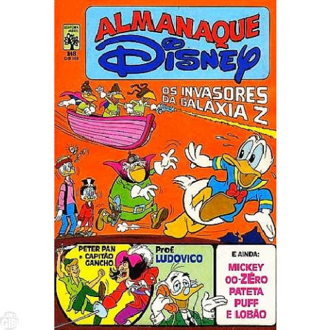 Almanaque Disney nº 148 set/1983 - Carl Barks