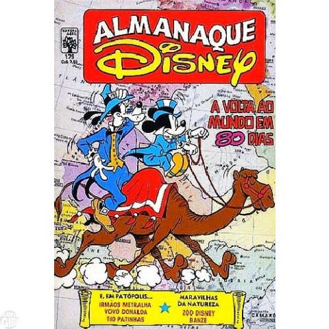 Almanaque Disney nº 179 abr/1986 - Pateta Faz História: A Volta ao Mundo em 80 Dias