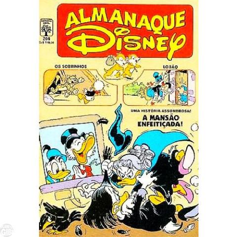 Almanaque Disney nº 204 mai/1988 - Maga Patalójika - Metralhas