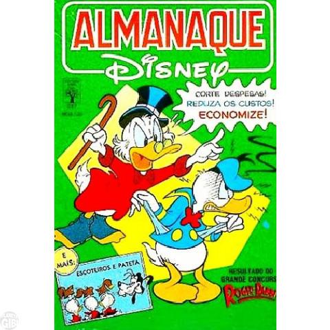 Almanaque Disney nº 217 jun/1989 - O Sobrinho Durango