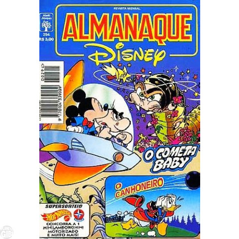 Almanaque Disney nº 294 jan/1996 - O Cometa Baby