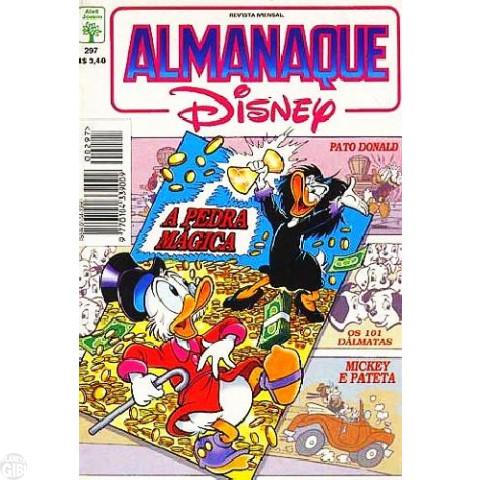 Almanaque Disney nº 297 abr/1996 - O Tesouro Misterioso
