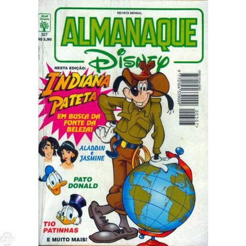 Almanaque Disney nº 307 fev/1997 - Indiana Pateta