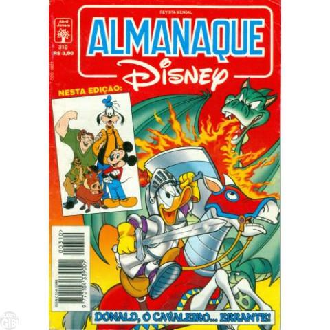Almanaque Disney nº 310 mai/1997 - Donald: Cavaleiro... Errante