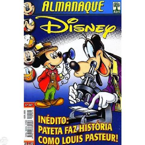 Almanaque Disney nº 341 jul/2000 - Pateta Faz História: Pasteur