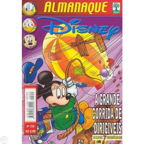 Almanaque Disney nº 350 jan/2003 - Mickey no Polo Norte - Baixa Tiragem