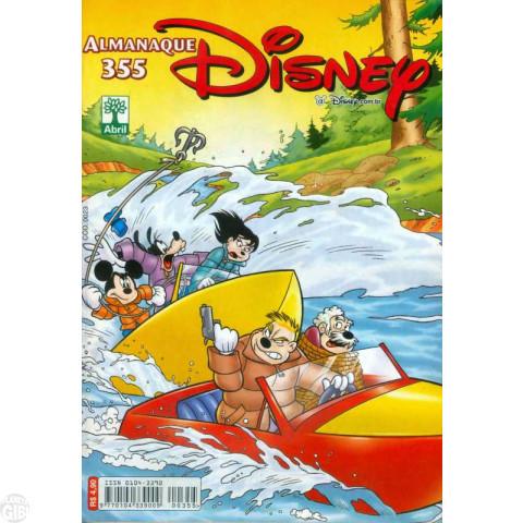 Almanaque Disney nº 355 nov/2003 - Fotos Proibidas