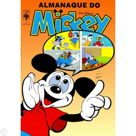 Almanaque do Mickey [1ª série] nº 003 jun/1987