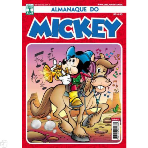 Almanaque do Mickey [2ª série] nº 005 dez/2011 - O Tesouro do Tio Jeremias