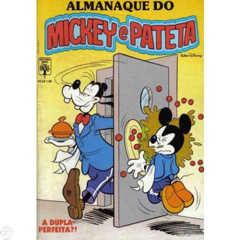 Almanaque do Mickey e Pateta nº 001 jul/1989 - Adivinha Quem É o Culpado...
