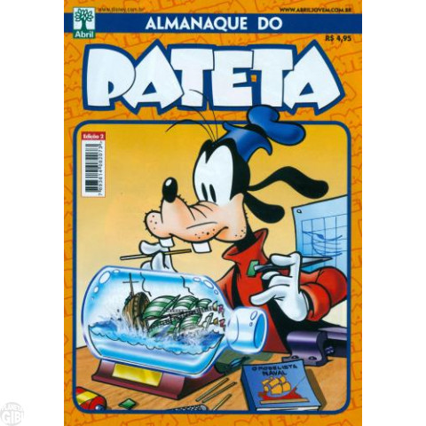 Almanaque do Pateta nº 002 nov/2011 - Aventuras em Alto Mar - Paul Murry - Tony Strobl