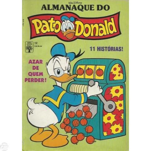 Almanaque do Pato Donald [1ª série] nº 012 nov/1990 - Papagaio! Que Papagaio! - Carl Barks