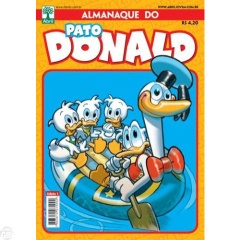 Almanaque do Pato Donald [2s] nº 001 dez/2010