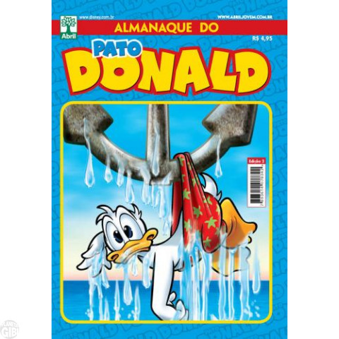 Almanaque do Pato Donald [2s] nº 002 jun/2011 - SuperDonald - Carl Barks