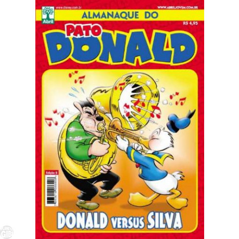 Almanaque do Pato Donald [2s] nº 008 jun/2012 - Especial Donald Versus Silva