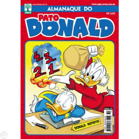 Almanaque do Pato Donald [2s] nº 010 out/2012 - Especial A Patada