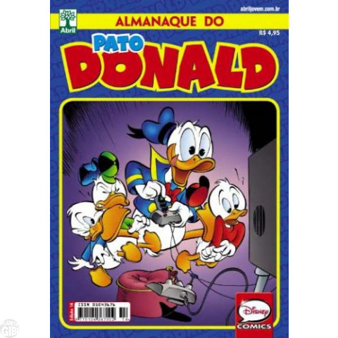 Almanaque do Pato Donald [2s] nº 014 jun/2013 - O Incrível Pato - Daniel Branca