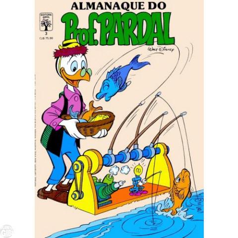 Almanaque do Prof. Pardal [1ª série] nº 003 mar/1988 - O Borrachomóvel