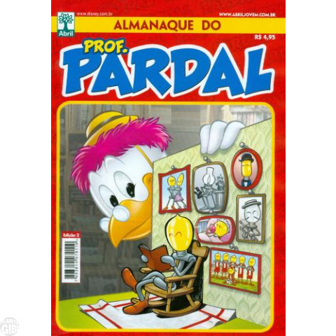 Almanaque do Prof. Pardal [2s] nº 002 jul/2011 - O Patosat I