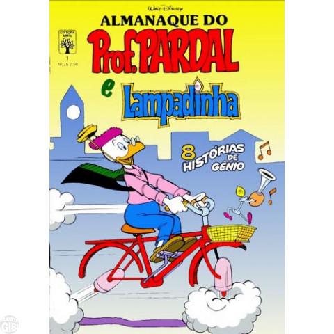 Almanaque do Prof. Pardal e Lampadinha nº 001 set/1989 - O Materializador de Desejos - Edição Única Desta Série