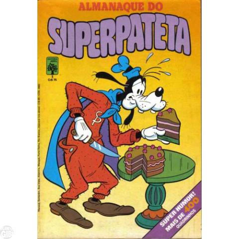 Almanaque do Superpateta [1ª série] nº 001 set/1981 - Ajudando a Atrapalhar - Edição Única Desta Série - Vide Detalhes