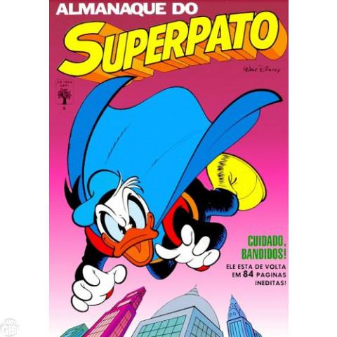 Almanaque do Superpato nº 006 jul/1988 - Os Caçadores da Arca Quase Perdida - Última Edição Desta Série