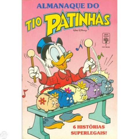 Almanaque do Tio Patinhas [1ª série] nº 007 abr/1991 - O Tesouro do Pirata Bico Negro - Luciano Bottaro - Vide Detalhes