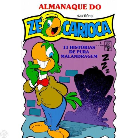 Almanaque do Zé Carioca [1ª série] nº 005 fev/1988 - O Sansão da Vila - Vide Detalhes