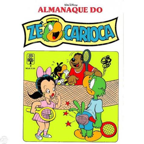 Almanaque do Zé Carioca [1ª série] nº 009 fev/1990 - Pra Frente, Sogrão! - Vide Detalhes