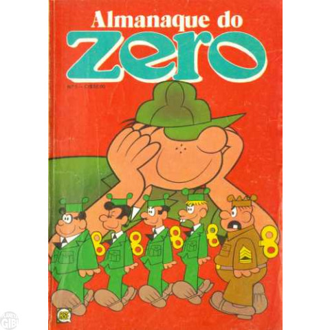 Almanaque do Zero [RGE - 2ª série]  nº 005 out/1980
