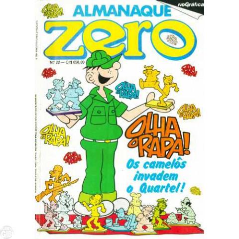 Almanaque do Zero [RGE - 2ª série]  nº 022 jan/1984 - Vide Detalhes