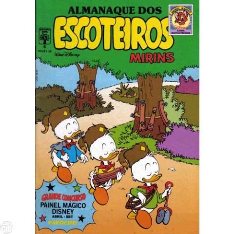 Almanaque dos Escoteiros Mirins nº 006 nov/1989 - Vide Detalhes