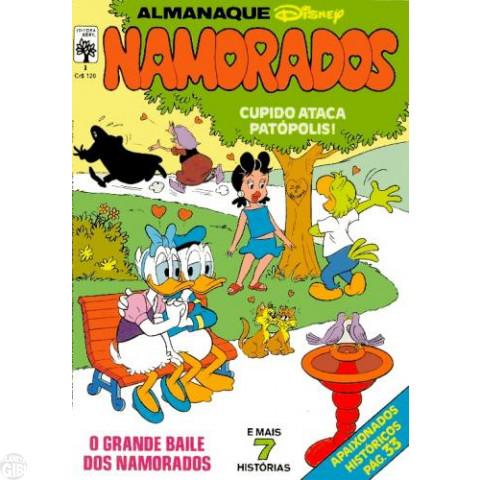 Almanaque dos Namorados [Disney] nº 001 jun/1982 - A Mancha Cor-de-Rosa
