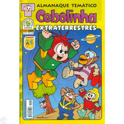 Almanaque Temático [Panini] nº 011 jul/2009 - Cebolinha Extraterrestres