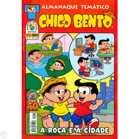 Almanaque Temático [Panini] nº 019 jul/2011 - Chico Bento A Roça e a Cidade