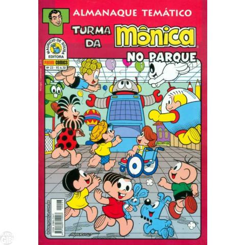 Almanaque Temático [Panini] nº 023 jul/2012 - Turma da Mônica no Parque