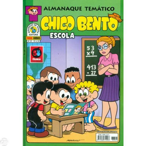 Almanaque Temático [Panini] nº 025 jan/2013 - Chico Bento Escola