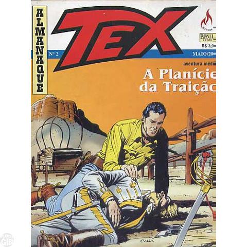 Almanaque Tex nº 002 mai/00 - A Planície da Traição