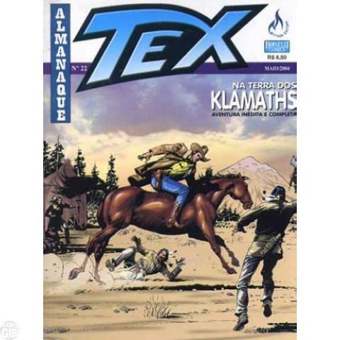 Almanaque Tex nº 022 - Na Terra dos Klamaths