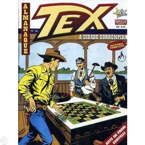 Almanaque Tex nº 034 jan/2008 - A Cidade Corrompida Até 24/04/2019