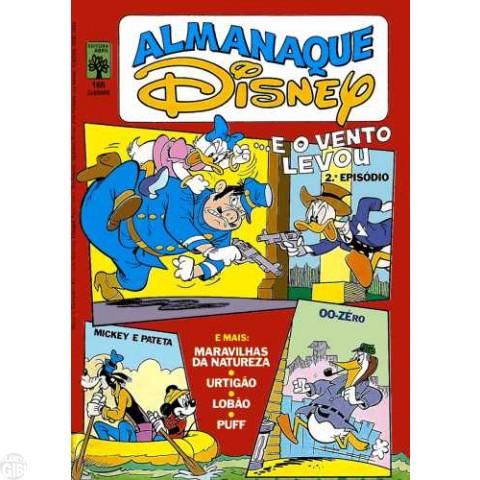Almanaque Disney nº 165 fev/1985 - ...E o Vento Levou Parte 2 de 3 - Vide Detalhes