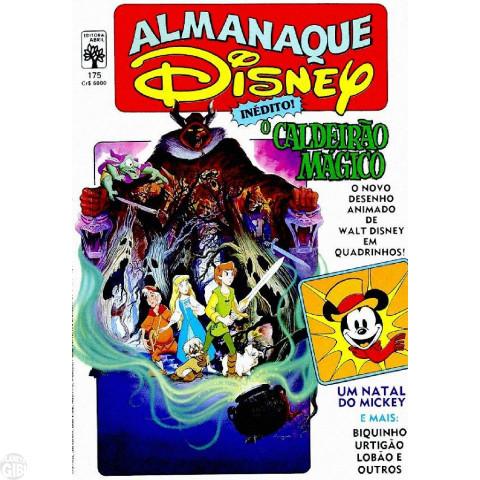 Almanaque Disney nº 175 dez/1985 - O Caldeirão Mágico