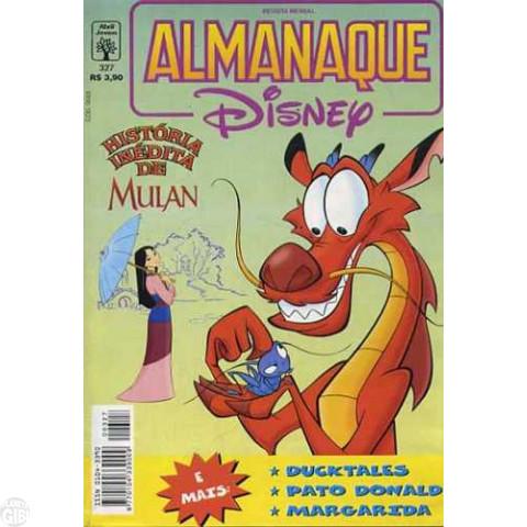Almanaque Disney nº 327 out/1998 - A Extraterrestre Apaixonada