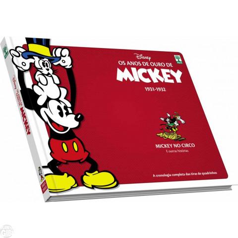 Anos de Ouro de Mickey nº 002 mar/2017 - 1931-2: Mickey no Circo - Capa Dura
