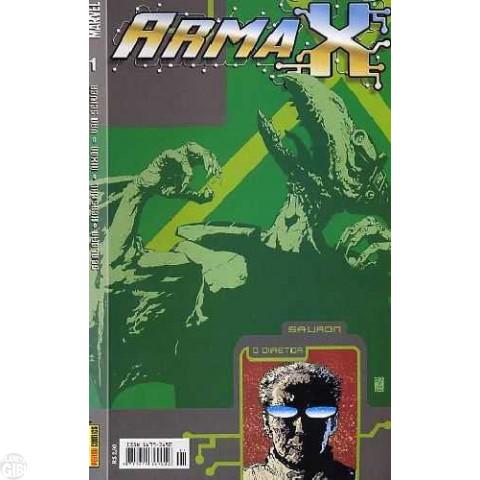 Arma X [Panini] nº 001 out/2003